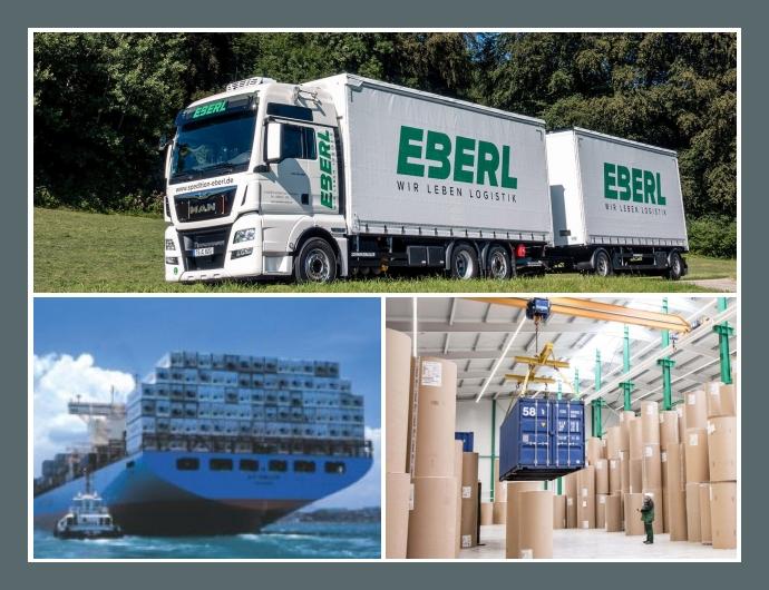 EBERL Logistik Aiging bei Traunstein Rosenheim München Spedition Sonderfahrten Umzug Transport