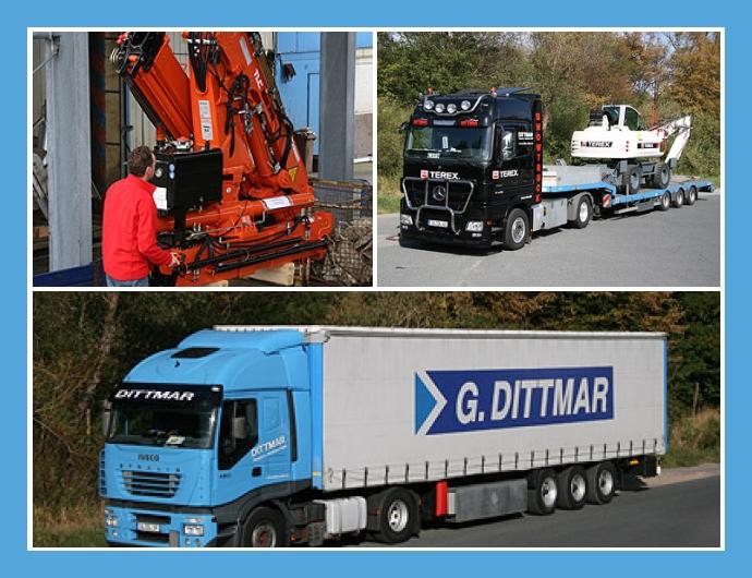 G.Dittmar Transport- und Speditions GmbH Ganderkesee Bremen Delmenhorst Containertrucking internationale Ladungsverkehre