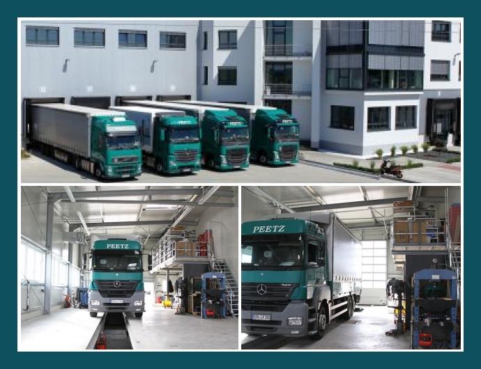 Ludwig Peetz GmbH & Co. KG Weisendorf Erlangen Forchheim Transport Lagerung