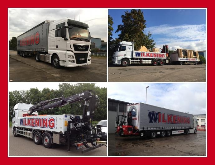 Wilkening Spedition - Logistik & Transport in Nienburg-Weser Hannover Wunstorf