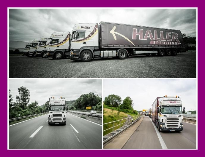 Haller Spedition - Logistik & Transport in Ebersbach an der Fils bei Stuttgart, Siegen, Heilbronn, Dortmund