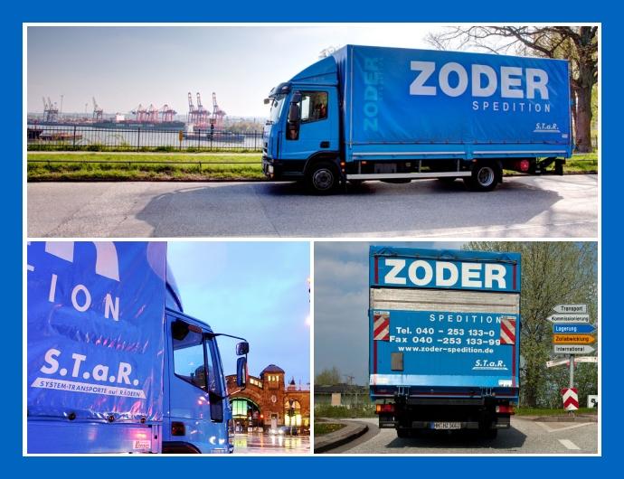 Heinrich Zoder Spedition GmbH - Logistikdienstleistungen in Hamburg, Stade, Norderstedt