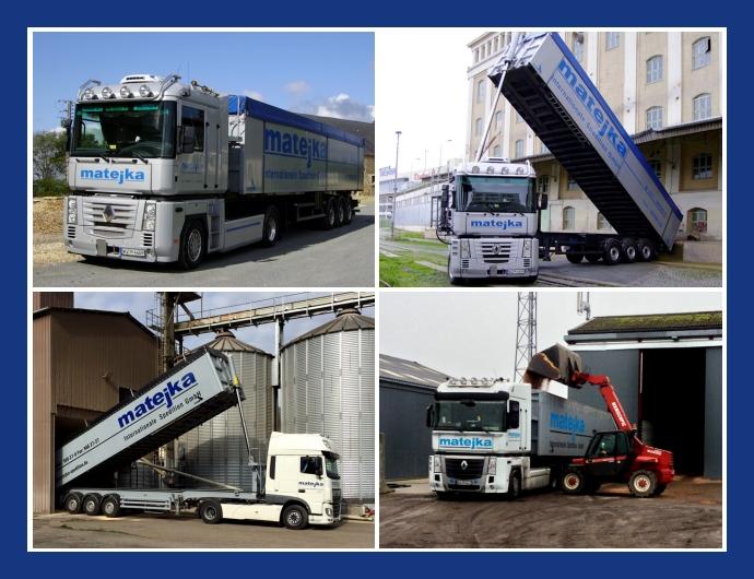 Matejka Internationale Spedition GmbH - Transport & Logistik in Estenfeld, Treuenbrietzen, Würzburg