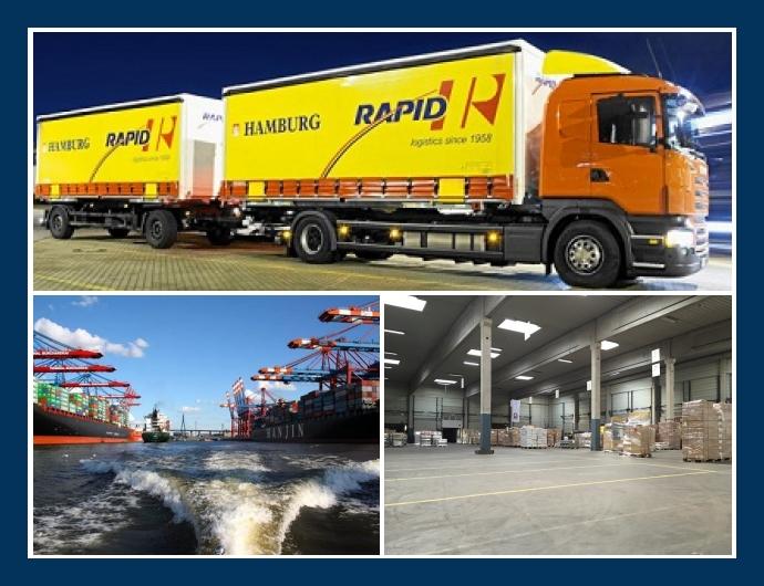 Rapid Logistics - Spedition & Transporte in Hamburg, Bremen, Düsseldorf, Essen