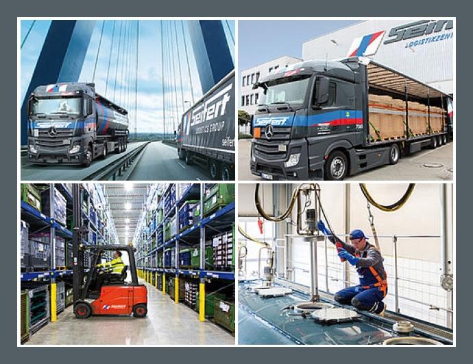 Seifert Logistics GmbH - Spedition in Ulm, Augsburg, Merseburg, Düsseldorf