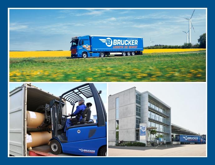 Spedition Brucker GmbH - Logistik-Anbieter in Aalen, Schwäbisch Gmünd, Homburg, Überlingen