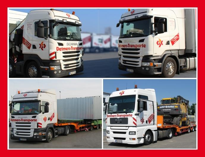 Spedition Detmers-Transport GmbH - Logistikleistungen in Mannheim, Dresden, Stuttgart