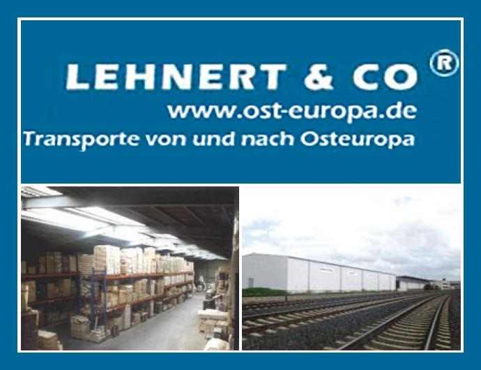Spedition Lehnert & Co - Transporte & Logistik in Hof nahe Plauen, Zwickau, Kulmbach