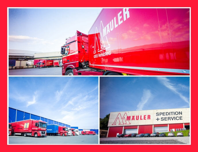 Spedition Mäuler - Transport- und Logistikservice in Remscheid, Wuppertal, Düsseldorf