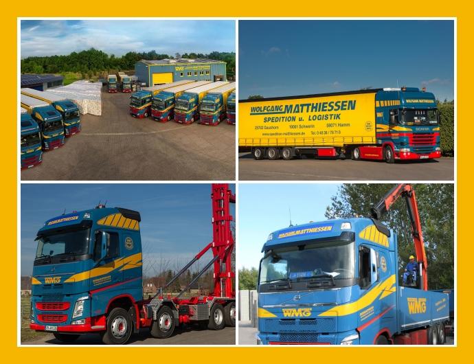 Spedition Matthiessen - Logistik-Dienstleistungen in Gaushorn, Schwerin, Hamm