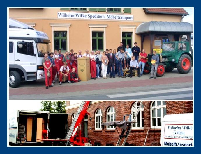 Wilhelm Wilke Spedition - Logistik & Transporte in Guben nahe Cottbus, Eisenhüttenstadt, Frankfurt (Oder)